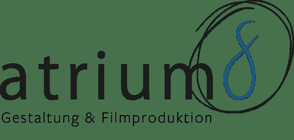 atrium8 GbR - Logo - Schwarz