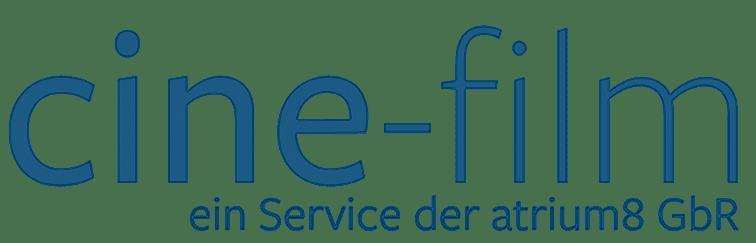 cine-film Logo - Ein Service der atrium8 GbR